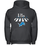 NFL Detroit Lions The Beatles Abbey Road Walk Youth Hoodie
