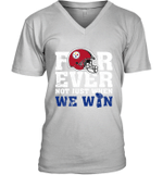 Forever Pittsburgh Steelers Not Just When WE WIN V-Neck T-Shirt
