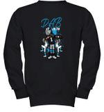DAD On Them Panthers Youth Sweatshirt