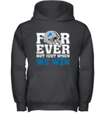 NFL Forever Detroit Lions Not Just When We Win Youth Hoodie