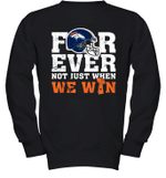 NFL Forever Denver Broncos Not Just When We Win Youth Sweatshirt