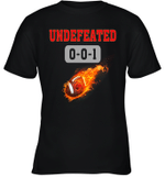 NFL TAMPA BAY BUCCANEERS LOGO Undefeated  Youth T-Shirt