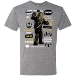 Wookie Famous Quotes Mens Triblend T-Shirt