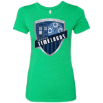 Gallifrey Timelords Womens Triblend T-Shirt