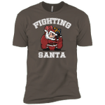 Fighting Santa Mens Premium T-Shirt