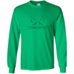 Whiskers Youth Long Sleeve T-Shirt