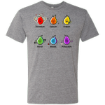 Flaming Elements Science Mens Triblend T-Shirt