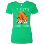 Hungry Hungry Womens Triblend T-Shirt