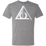 Deathly Impossible Hallows Mens Triblend T-Shirt