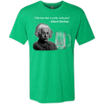 Einstein Mens Triblend T-Shirt
