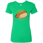 Hotdog Womens Triblend T-Shirt