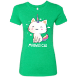 Meowgical Womens Triblend T-Shirt