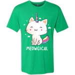 Meowgical Mens Triblend T-Shirt