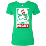 Disobey Womens Triblend T-Shirt