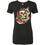 SKULLY Womens Triblend T-Shirt