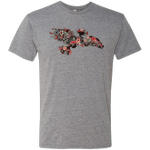 Flowerfly Mens Triblend T-Shirt