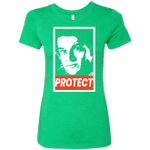 PROTECT Womens Triblend T-Shirt