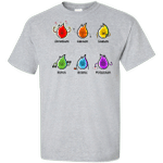 Flaming Elements Science Tall T-Shirt