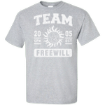 Team Freewill Tall T-Shirt