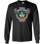 Trolls Gym Mens Long Sleeve T-Shirt