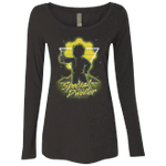 Retro Special Dweller Womens Triblend Long Sleeve Shirt
