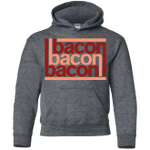 Bacon-Bacon-Bacon Youth Hoodie