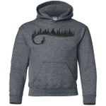 Wolf Tail Youth Hoodie