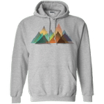 Abstract Range Pullover Hoodie