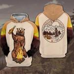 Bear Camping Hoodie 059