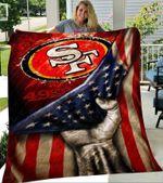 San Francisco 49ers Tz Premium Quilt Blanket