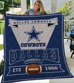 Dallas Cowboys Logo Premium Quilt