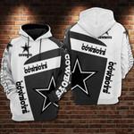 Dallas Cowboys Custom 3 Hoodie