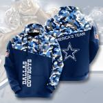 Dallas Cowboys 3D Hoodie