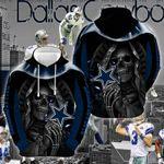 Dallas Cowboys 3d Full Printed 3000
