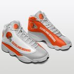 Cleveland Browns Air JD13 Sneakers 089