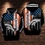 Denver Broncos Flag New Hoodie