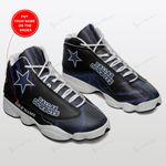 Dallas Cowboys Personalized Air JD13 Sneakers 185