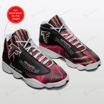 Atlanta Falcons Personalized Air JD13 Sneakers 196