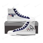 New England Patriots High Top Shoes