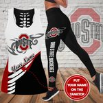 Ohio State Buckeyes Personalized Leggings/ Tank Top Limited 004