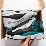 Miami Dolphins Air JD13 Sneakers 314