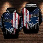 New England Patriots Flag New Hoodie