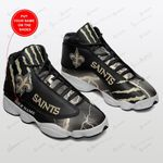 New Orleans Saints Personalized Air JD13 Sneakers 199