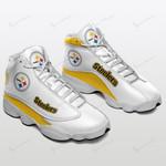 Pittsburgh Steelers Air JD13 Sneakers 079