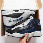 Dallas Cowboys Air JD13 Sneakers 313
