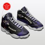 Baltimore Ravens Personalized Air JD13 Sneakers 189