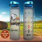 Snoopy Personalized Water Bottle 04