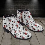 Mickey Fashion Zipper Boots 010