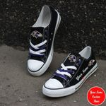 Baltimore Ravens Personalized New Low Top 025
