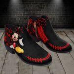 Mickey Fashion Zipper Boots 011
